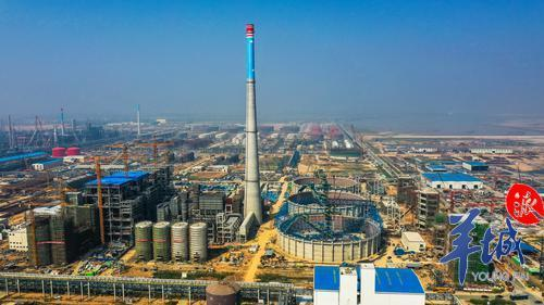 湛江|中科炼化动力站首台锅炉一次点火成功